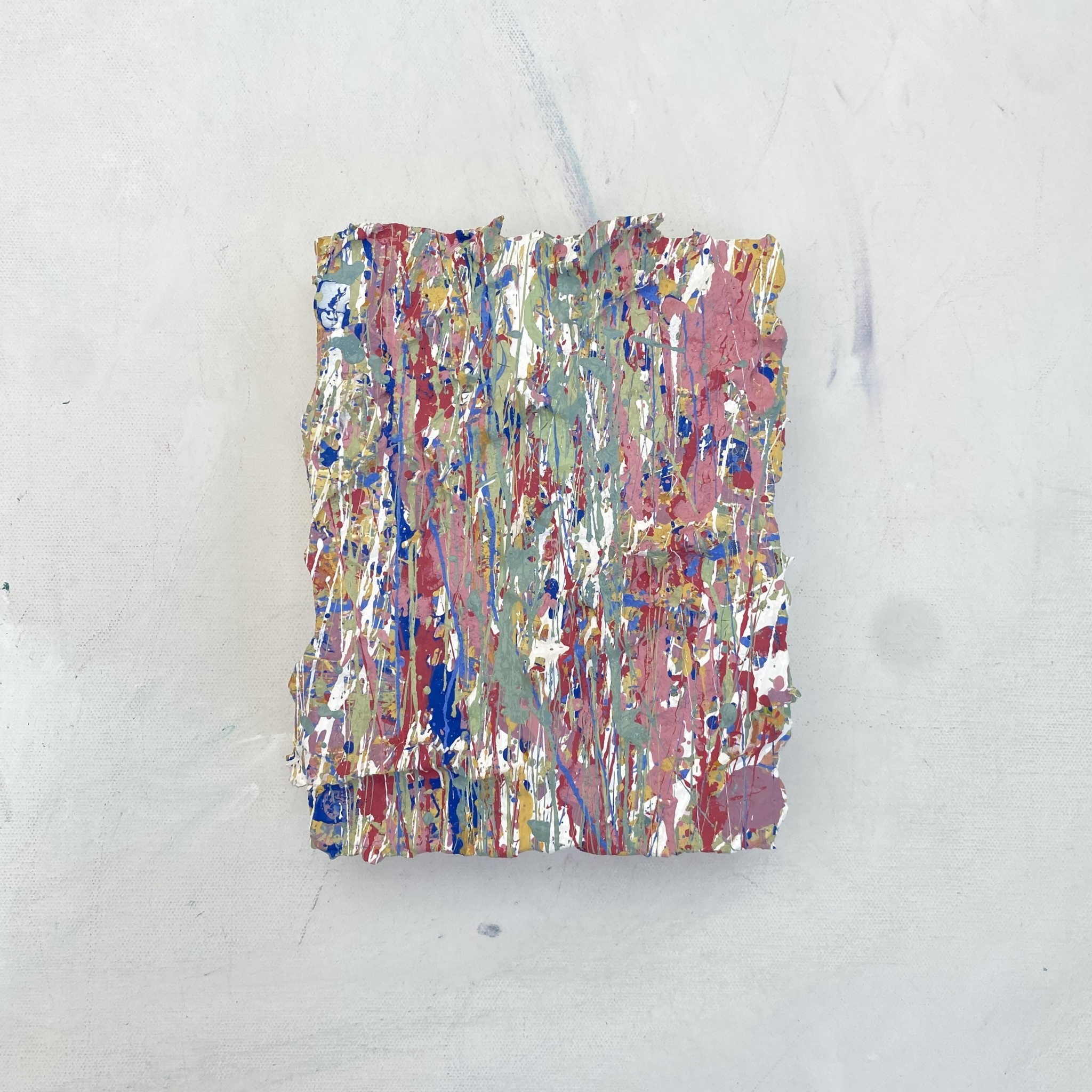 gallery view elements number five artwork a pastel coloured abstract artworks made with plastic free eco friendly paints by somersets artists emily duchscherer kirk